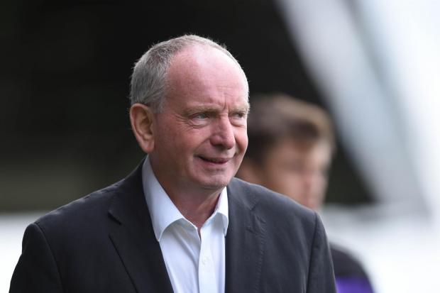 GONE: Lennie Lawrence has left Newport County