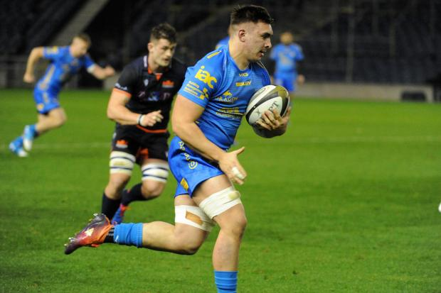 BREAKTHROUGH: Back row forward Taine Basham starred for the Dragons in 2019/20