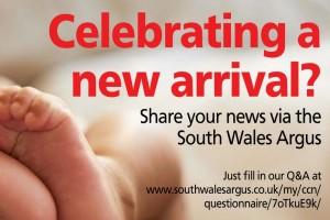 Have you just had a baby? We'd love to share your news.