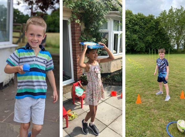 CIW Primary held their own virtual sports day