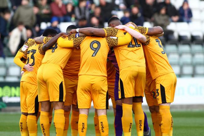 LIMIT: A salary cap has been proposed for Newport County and their fellow EFL teams