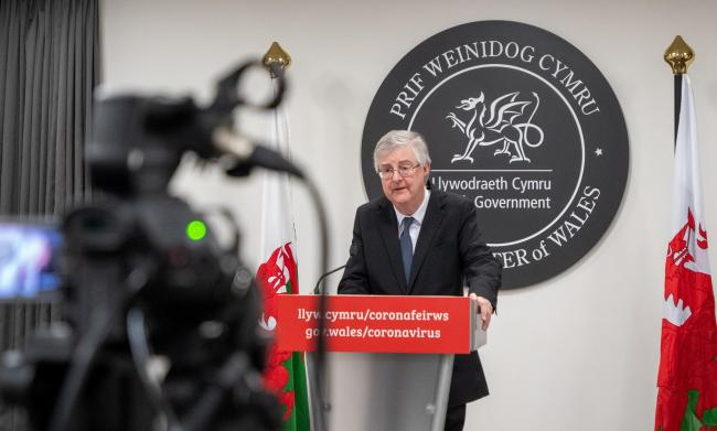 First Minister Mark Drakeford has warned further easing of the lockdown may not take place.