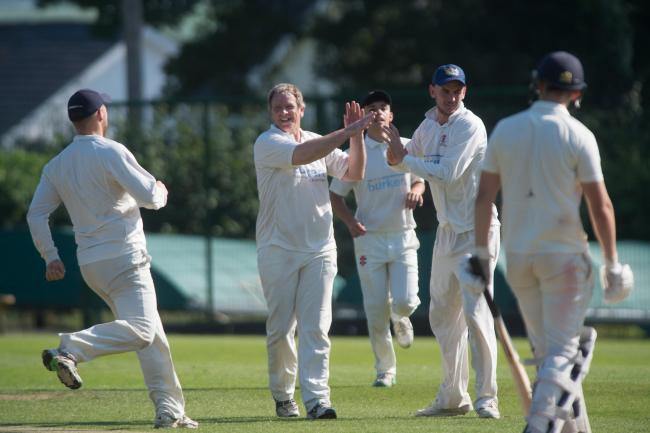 REASON TO CELEBRATE: Cricketers in Gwent could be back in action in August