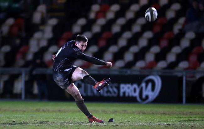 Favourites: Sam Davies says Dragons go into tonight's game with Zebre as favourites. Picture: Huw Evans Agency