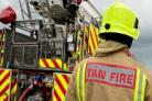 The fire service were present at the scene for four hours