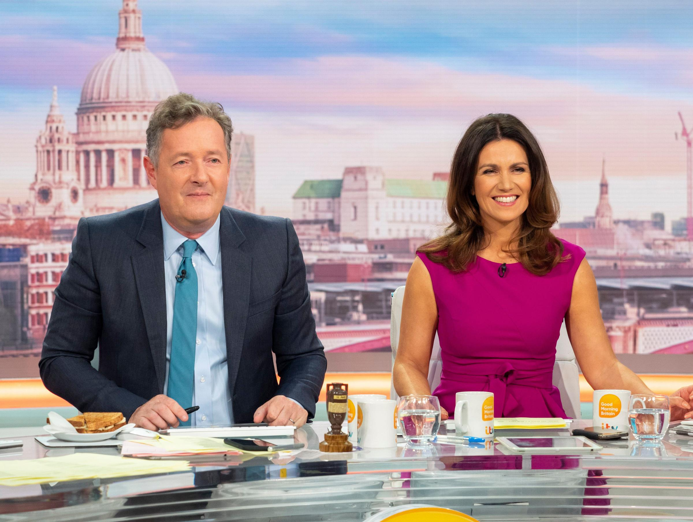 Piers Morgan shocked after Susanna Reid's confession on Good Morning  Britain | South Wales Argus