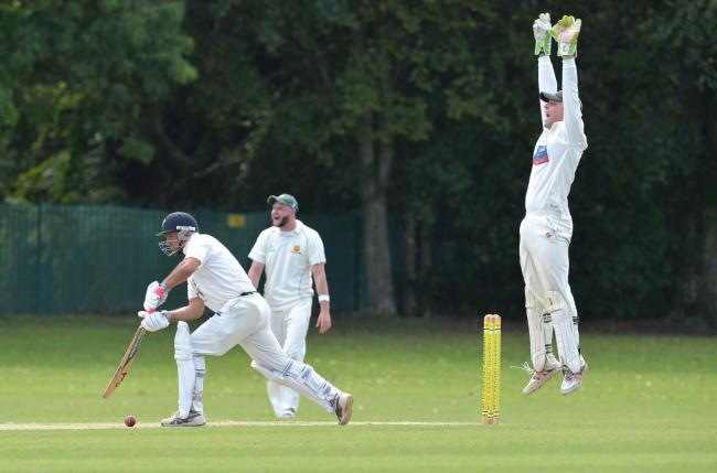 APPEAL: Chepstow and Abergavenny in action in the South East Wales Cricket League last year