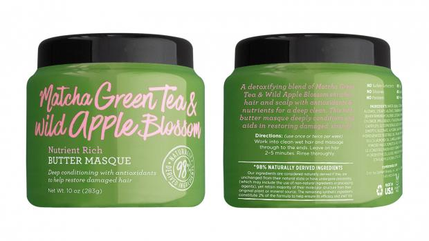 South Wales Argus: Define your hair's texture with the Not Your Mother's Matcha Green Tea & Wild Apple Blossom Nutrient Rich Butter Masque. Credit: Not Your Mother's