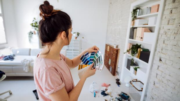 South Wales Argus: Consider what colour you'd most enjoy in the space, and feel free to consult paint fan decks, samples, and even apps to help you decide. Credit: Getty Images / AleksandarNakic