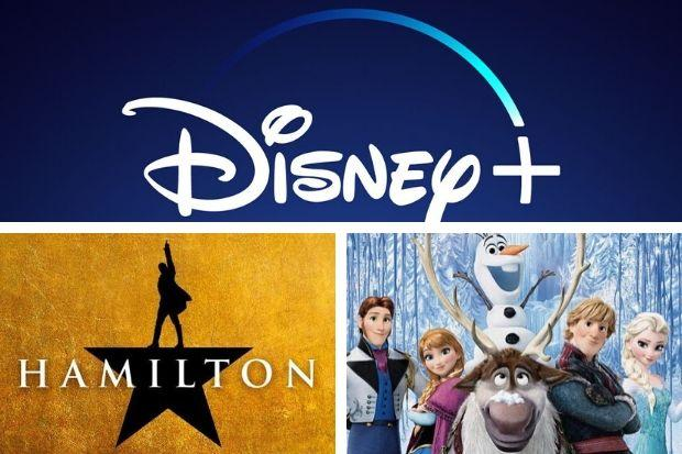 Disney+ adds hit musical Hamilton and Frozen 2 to its streaming service. Pictures: Disney