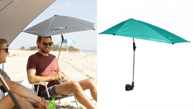 South Wales Argus: Take a break from the sun with this clip-on umbrella Credit: Amazon