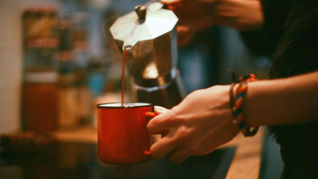South Wales Argus: Brewing coffee in a moka pot is budget-friendly and easy. Credit: Getty Images / Chatnoir