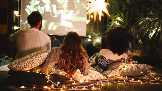 South Wales Argus: Sit back and relax with a projector and outdoor screen. Credit: Getty Images / M_A_Y_A