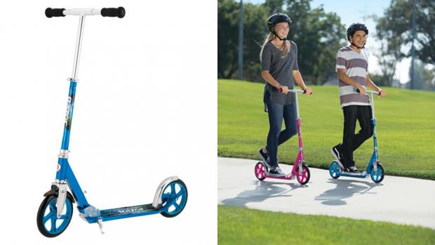 South Wales Argus: Get scootin' around your neighbourhood with this deluxe Razor. Credit: Razor