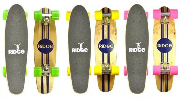South Wales Argus: Whether you're learning to skate for the first time or returning to the habit, this board is a great way to do it. Credit: Ridge Skateboards / Amazon