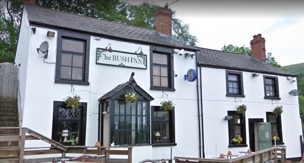 The Bush Inn in Upper Cwmbran. Picture: Google Street View.