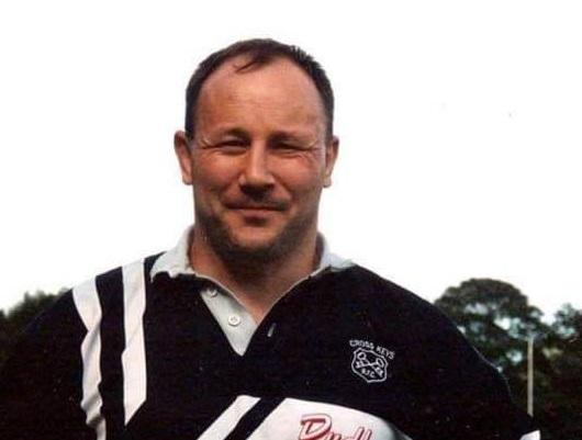 LEGEND: Former Cross Keys prop Richie Donovan has died at the age of 64