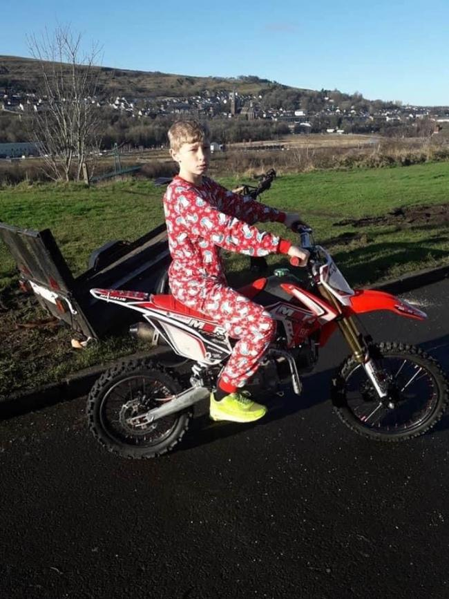 Tributes have been paid to 13-year-old Cory Hewer. Picture: Vicky Walker.