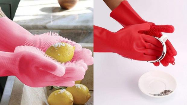 South Wales Argus: Gloves and sponges in one? Yes, please. Credit: Forliver