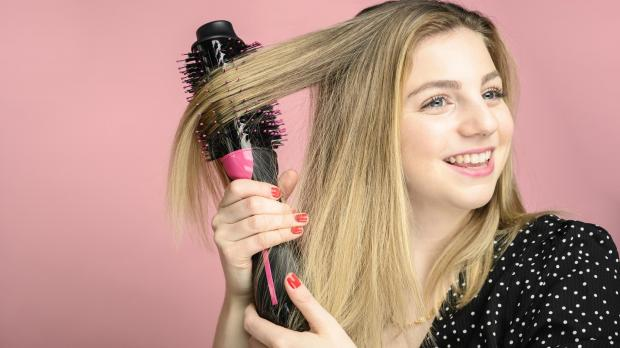 South Wales Argus: This Revlon hair dryer brush is better than any hair dryer I've ever used. Credit: Reviewed / Betsey Goldwasser