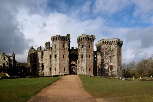 South Wales Argus: Raglan Castle. Picture: South Wales Argus Camera Club member Adrian Mahagan