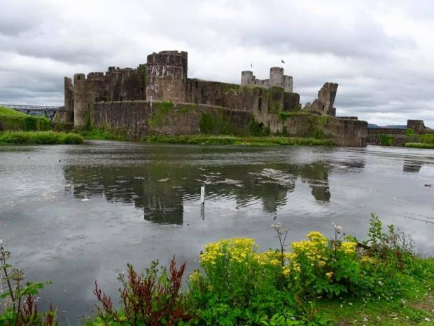 South Wales Argus: Caerphilly Castle. Picture: Picture: South Wales Argus Camera Club member Roger Fuller