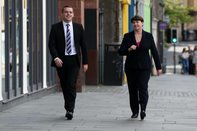 Douglas Ross and Ruth Davidson