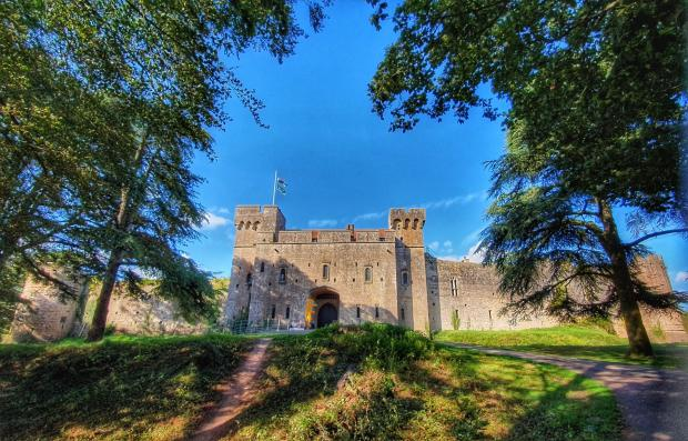 South Wales Argus: Caldicot Castle. Picture: South Wales Argus Camera Club member Catherine Mayo