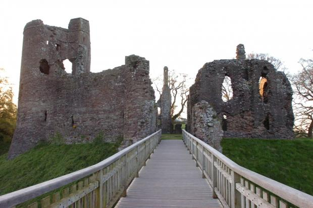 South Wales Argus: Grosmont Castle. Picture: James Maggs