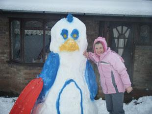 Geri McNamara age 11 from Cwmbran 