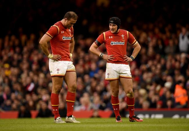 BLOW: Jamie Roberts won't be linking up with Sam Davies at the Dragons just yet