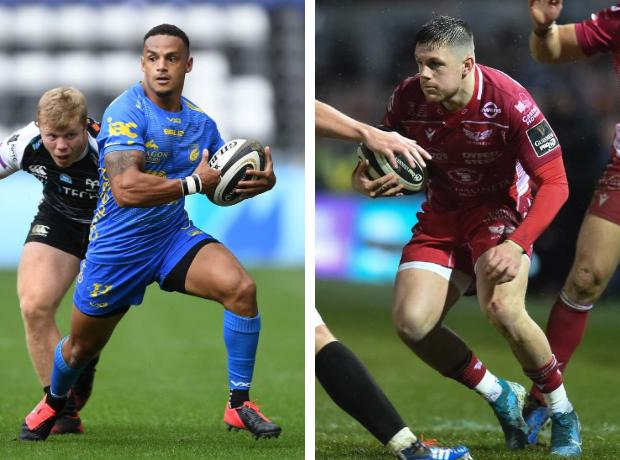 RIVALS: Ashton Hewitt and Steff Evans will go head-to-head