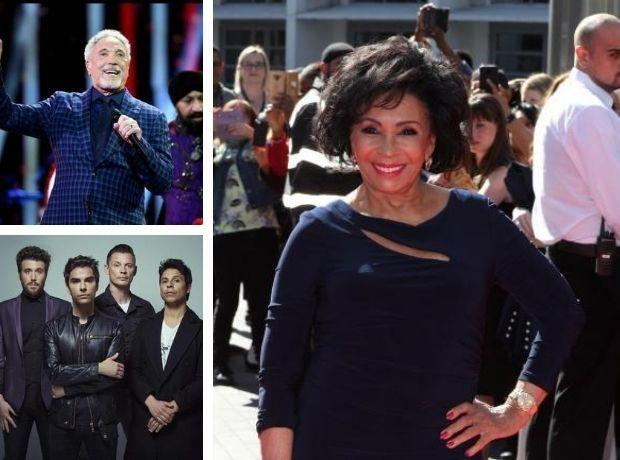 Gifts from Dame Shirley Bassey, Sir Tom Jones and the Stereophonics are all on auction