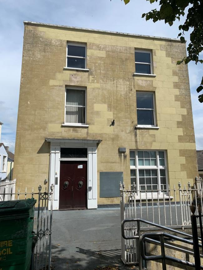 Naval connections: Grade 11 listed building in the heart of Chepstow linked to Admiral Horatio Nelson was sold by Paul Fosh Auctions