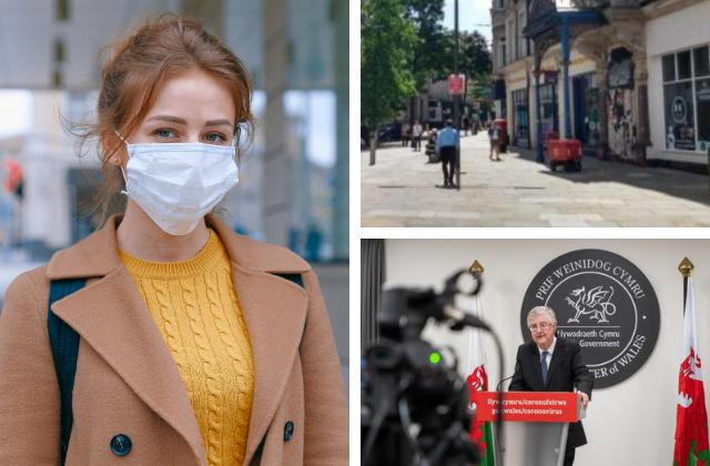 Facemasks to be made compulsory in shops and indoor spaces in Wales
