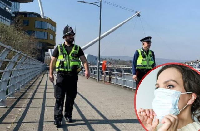 Police will be able to enforce new facemask rules in Wales