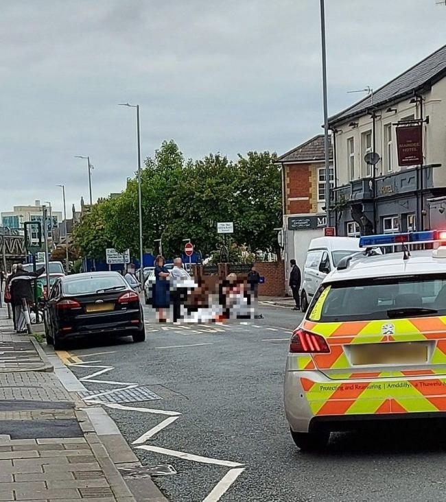 Woman injured in incident in Maindee Picture: Darren Little