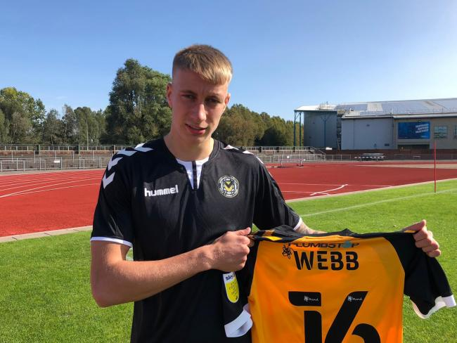 SIGNING: Newport County have brought Bradley Webb in on loan from Bristol City