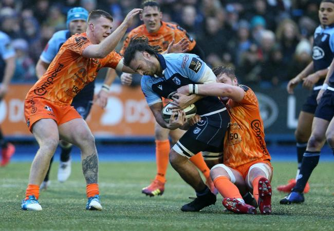 RIVALS: The Dragons are set to host Cardiff Blues on Boxing Day