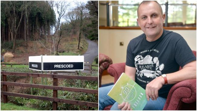 Author campaigns to save HMP Prescoed FC