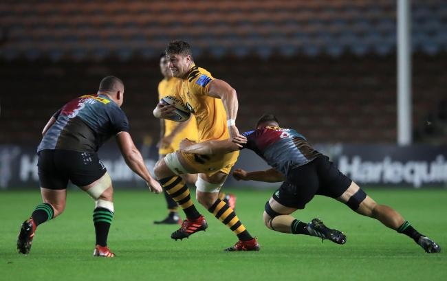 IN DEMAND: Wasps lock Will Rowlands is on the Dragons' radar