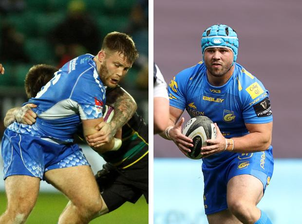 SIGNED: Rhys Lawrence and Conor Maguire have agreed short-term deals with the Dragons