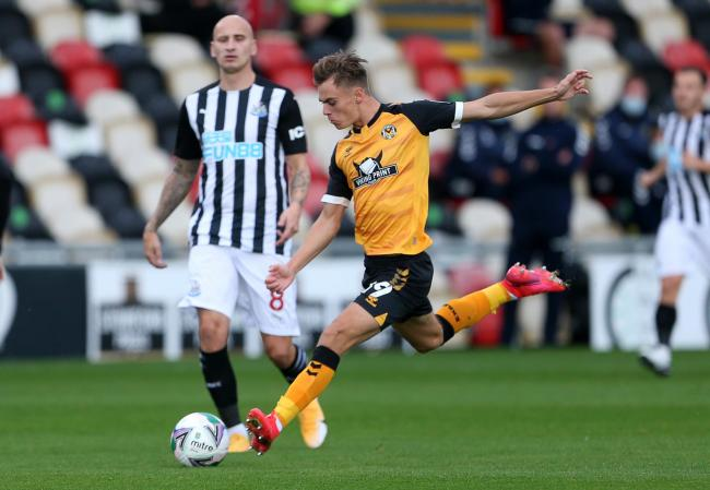 DANGERMAN: Scott Twine has provided Newport County with an added goal threat