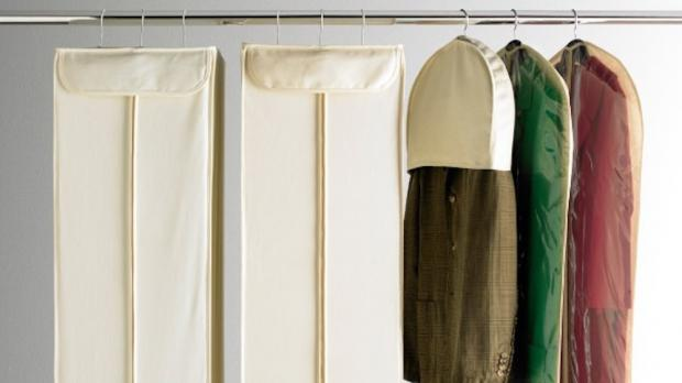 South Wales Argus: Delicate items should be hung up in garment bags. Credit: The Container Store
