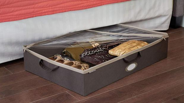 South Wales Argus: Under-bed storage is ideal for homes with limited space. Credit: ClosetMaid