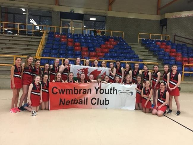 TALENTED: Cwmbran Youth Netball Club are in the running for gongs at the Argus Sports Awards