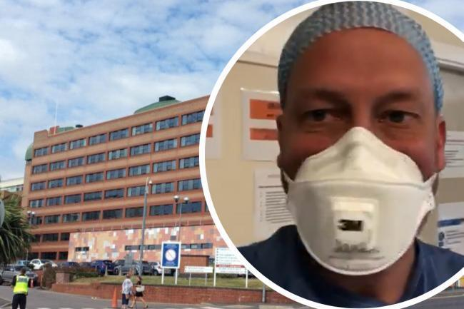 Gwent doctor gives coronavirus update from Gwent hospital as pressures mount