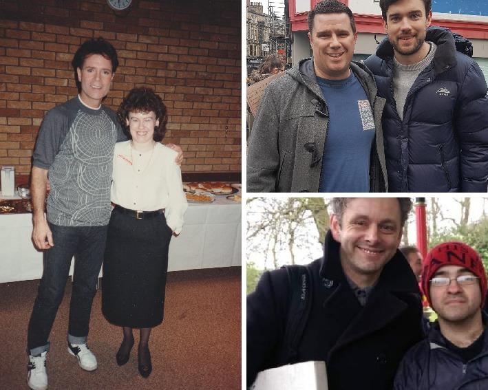 Sir Cliff Richard, Michael Sheen, Jack Whitehouse among celebrity snaps