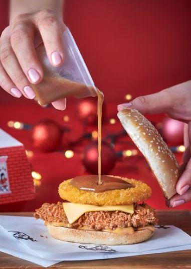 Kfc Tease New Christmas Menu Featuring Epic Gravy Burger South Wales Argus