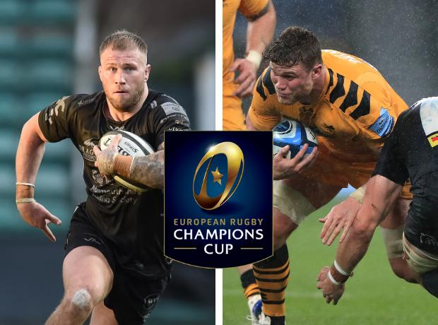 RIVALS: Dragons back rower Ross Moriarty will clash with Wales teammate Will Rowlands when Wasps head to Newport